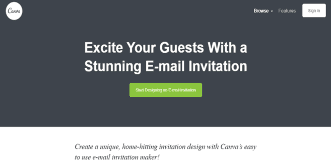 5 websites to design your training invite thought bulb canva is one website which will never disappoint you if you are looking high quality images graphics and professionally designed templates stopboris Gallery