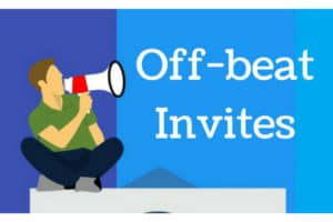 Off-beat training invites to attract Participants