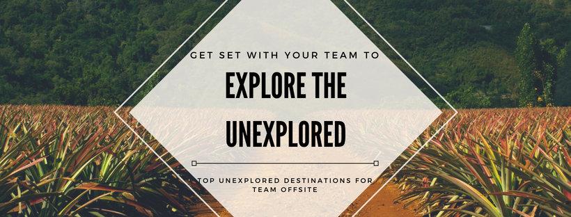 Explore the unexplored