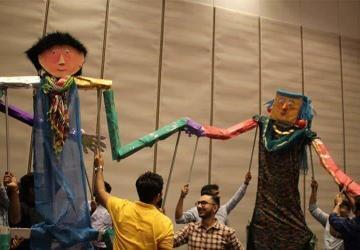 Giant Puppet Challenge