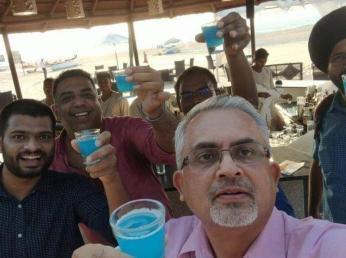 Team CISCO soaks in the Goan vibes