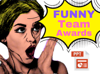 Funny Team Awards PPT