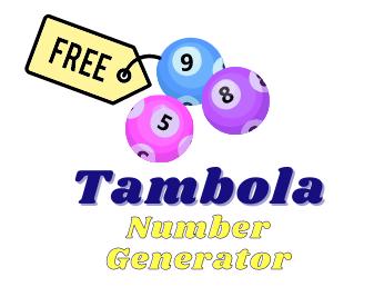 Free Tambola Number Generator